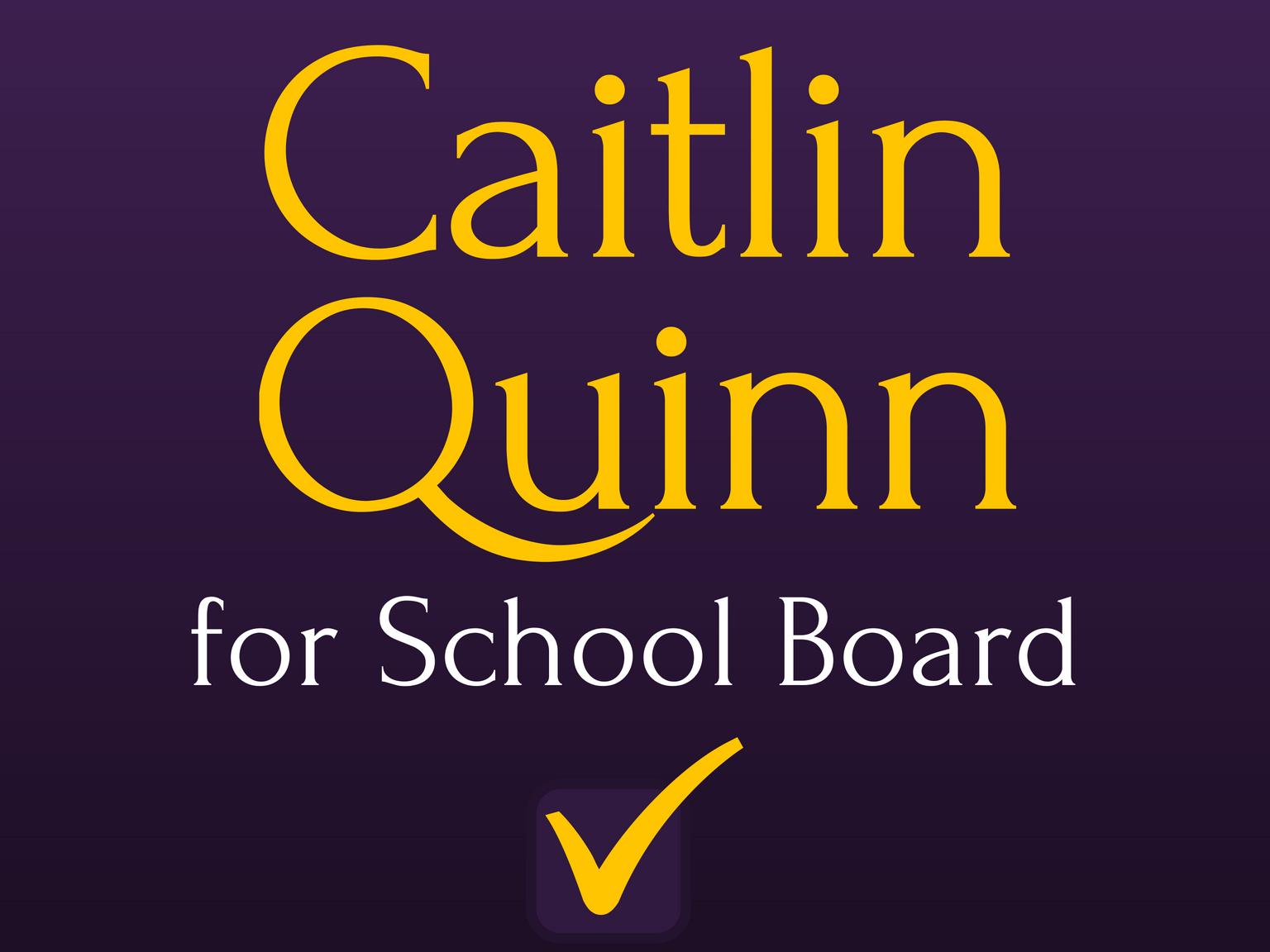 Caitlin Quinn for Petaluma City Schools
